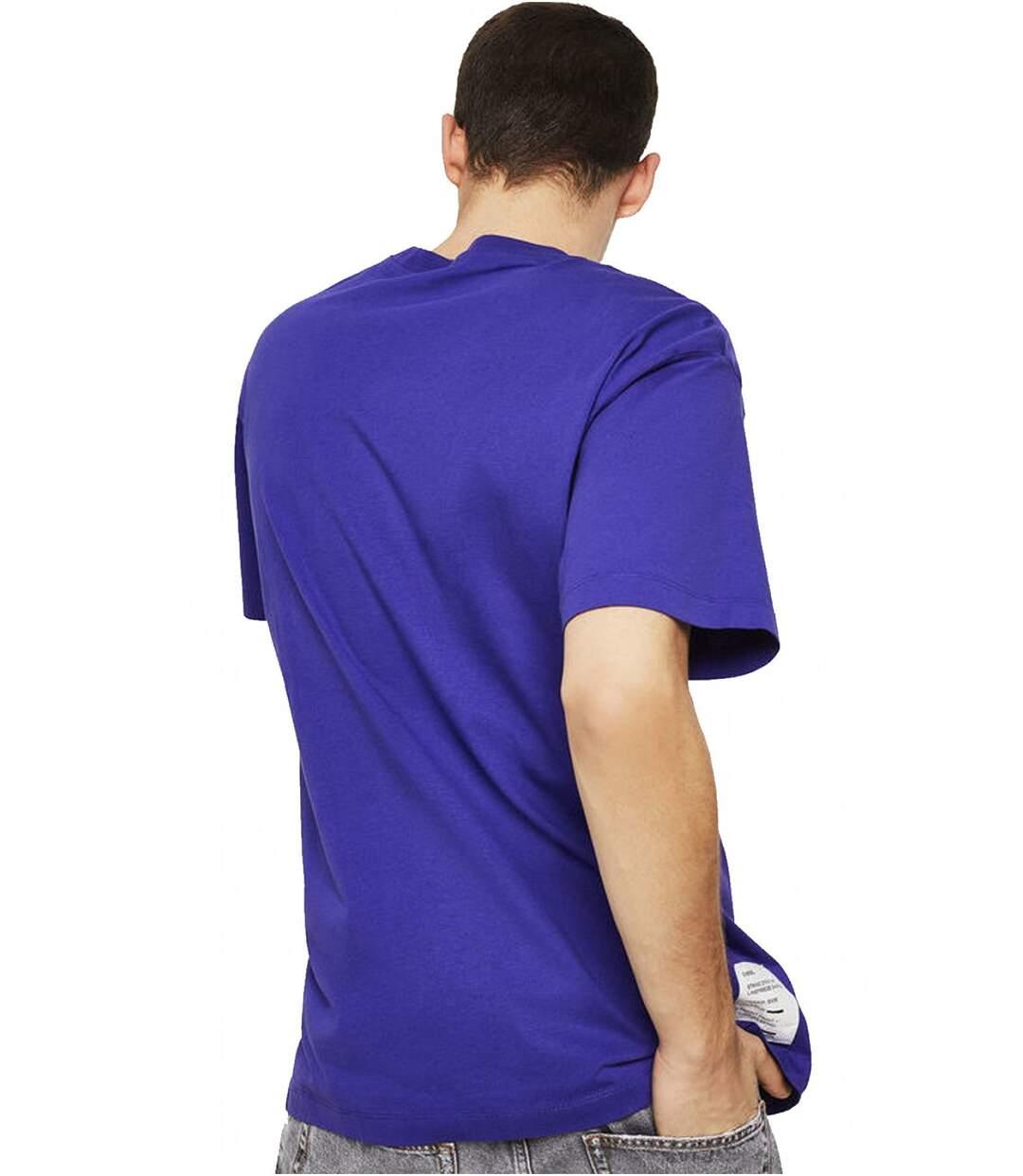 Tee shirt coton à message  -  Diesel - Homme