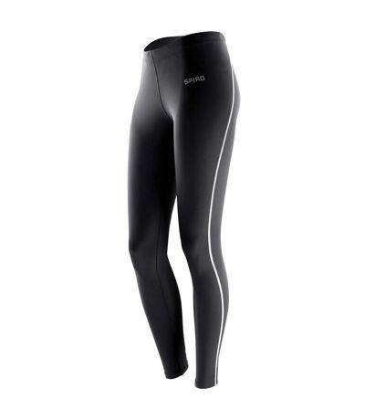 Spiro - Lot de 2 leggings de sport - Femme (Noir) - UTRW7020