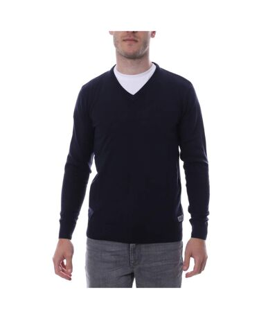 Pull Over Marine Homme Hungaria V NECK EDITION