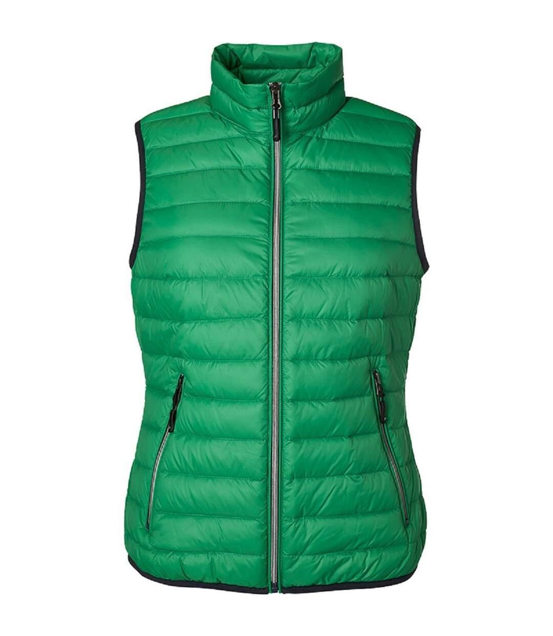 Bodywarmer duvet - JN1137 - vert - Femme