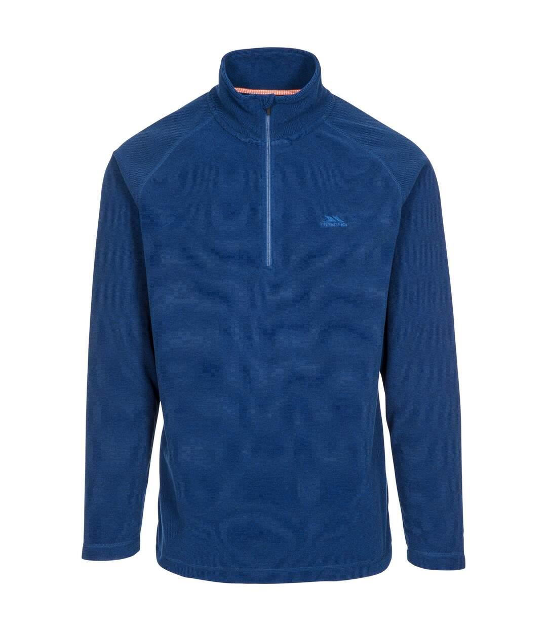 Trespass Mens Keynote Anti Pilling 1/4 Zip Fleece Top (Charcoal) - UTTP4242