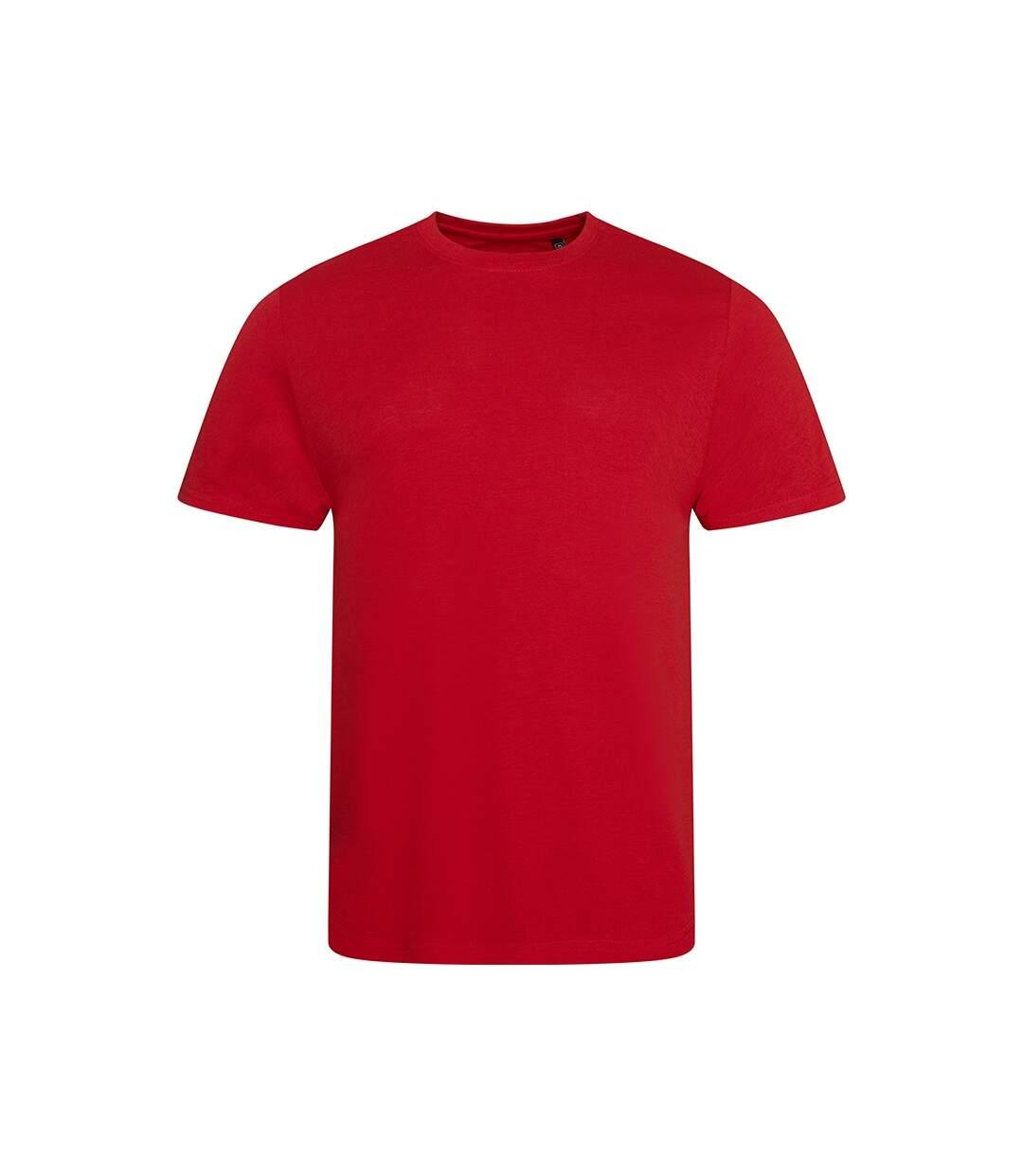 AWDis Mens Tri Blend T Shirt (Solid Red) - UTPC2894