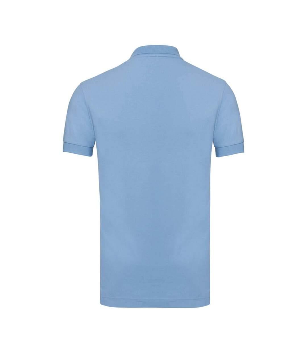 Russell Mens Stretch Short Sleeve Polo Shirt (Light Oxford) - UTBC3257