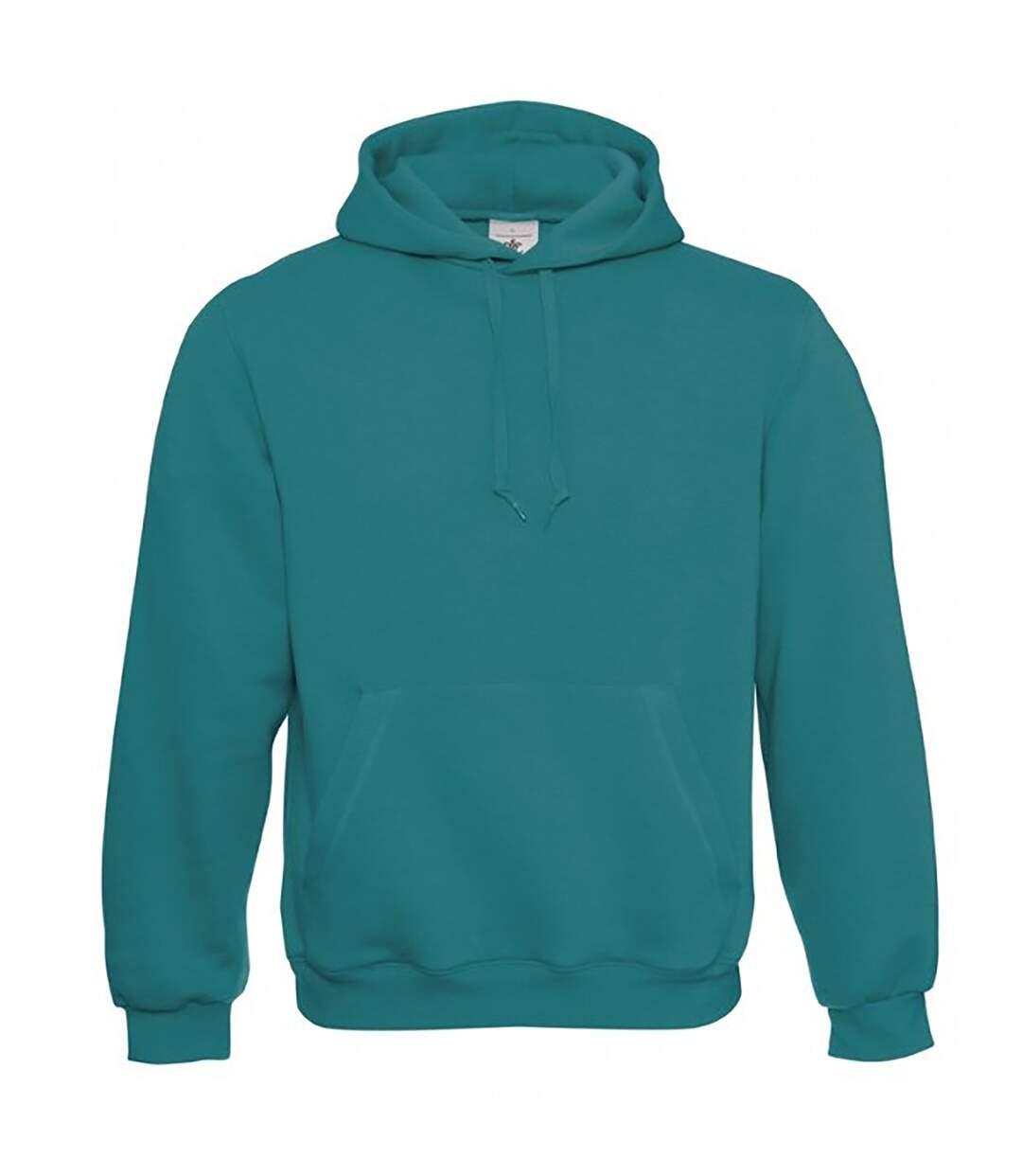 B&C Mens Hooded Sweatshirt / Hoodie (Urban Purple) - UTBC127