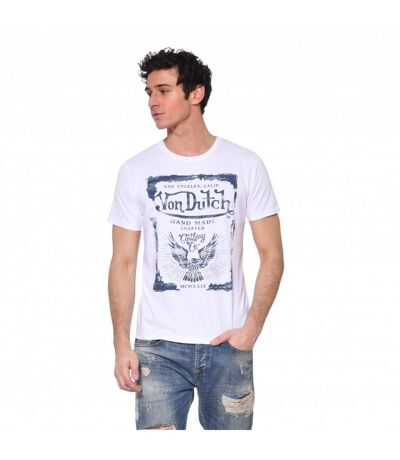 T-shirt coton homme Crafted
