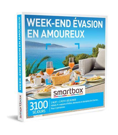 SMARTBOX - Week-end évasion en amoureux - Coffret Cadeau Séjour