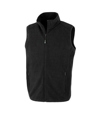 Result Genuine Recycled Mens Polarthermic Fleece Body Warmer (Black) - UTPC4327