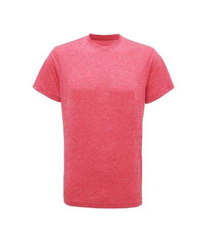 Tri Dri - T-shirt de fitness à manches courtes - Homme (Rose chiné) - UTRW4798