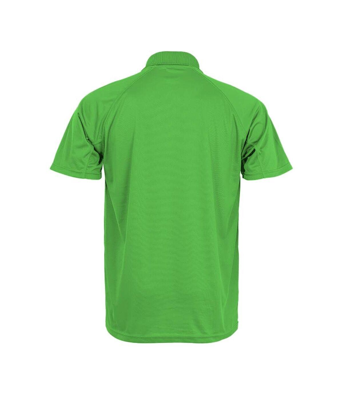 Spiro Impact Mens Performance Aircool Polo T-Shirt (Royal Blue) - UTBC4115
