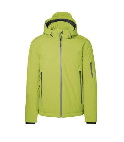 ID Mens Winter Water Resistant Regular Fitting Soft Shell Jacket (Lime) - UTID372