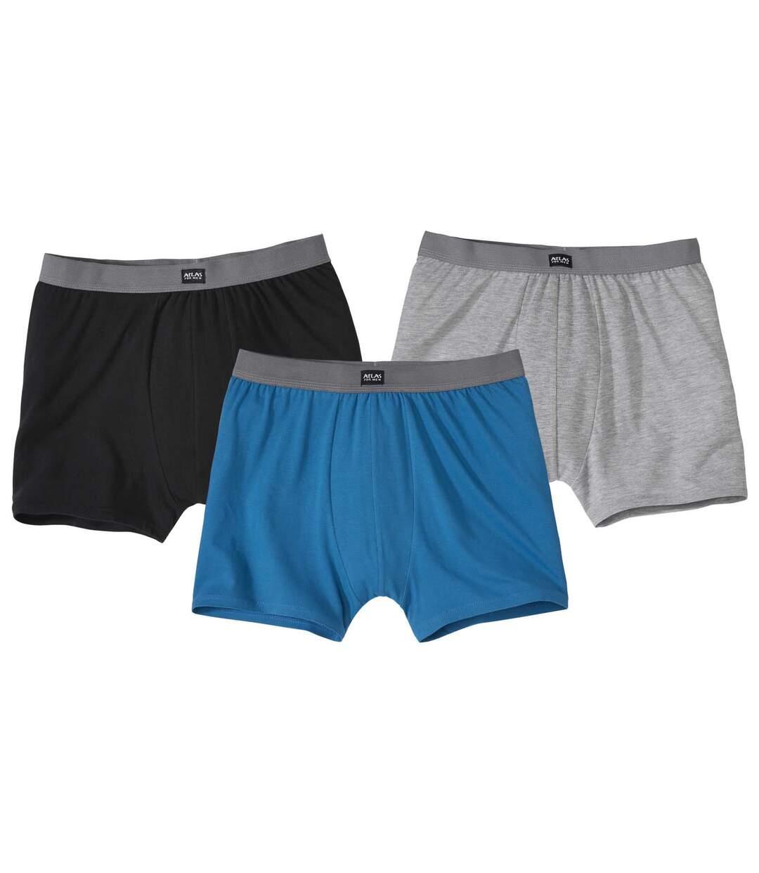 Lot de 3 Boxers Stretch Confort