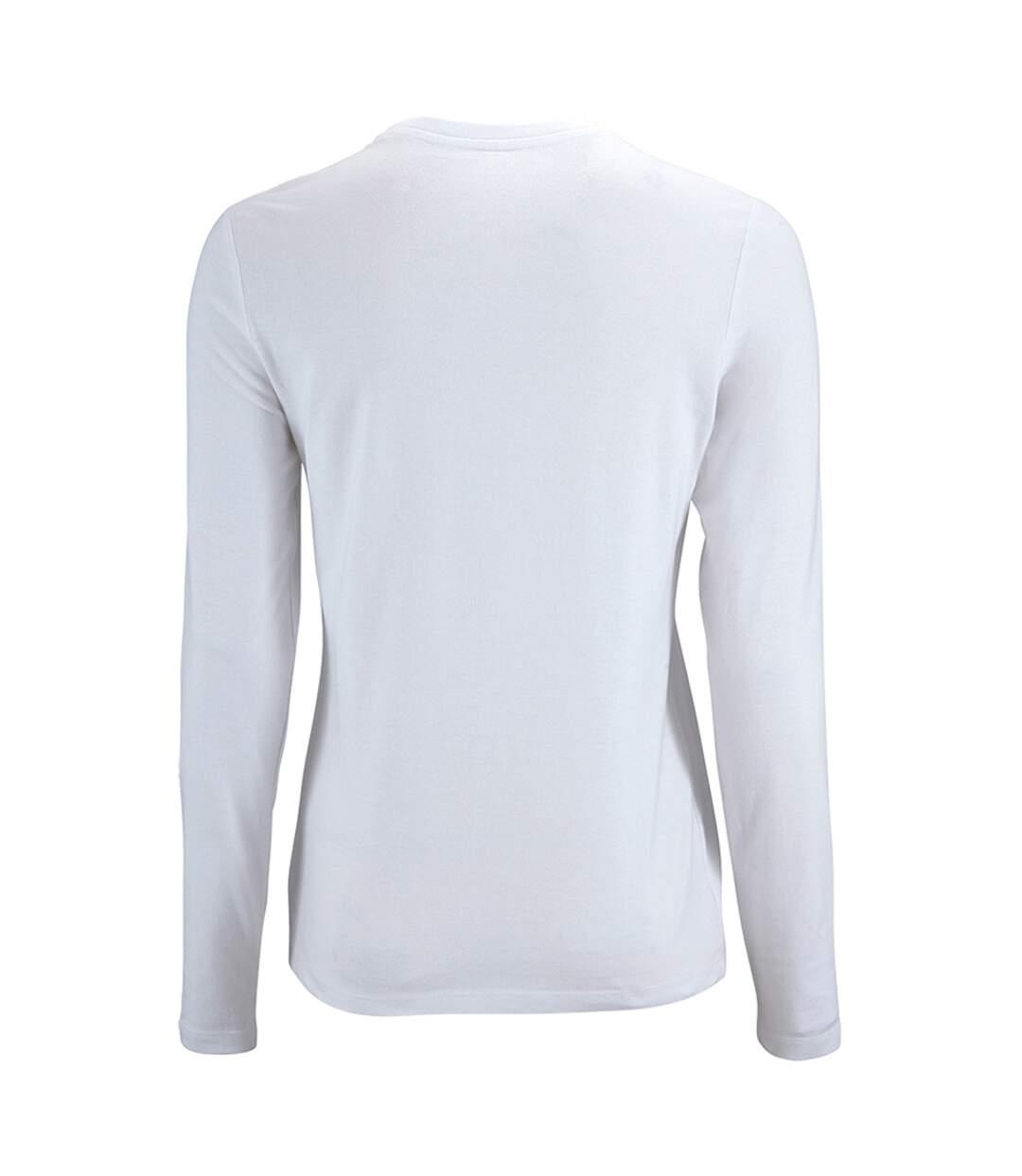 Sols - T-Shirt Manches Longues Imperial - Femme (Blanc) - UTPC2906