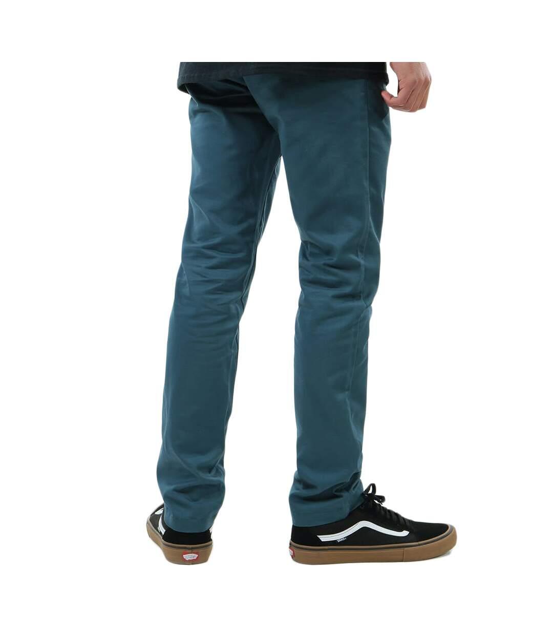 Pantalon Bleu Pétrole Homme Vans Authentic Chino | Atlas For Men