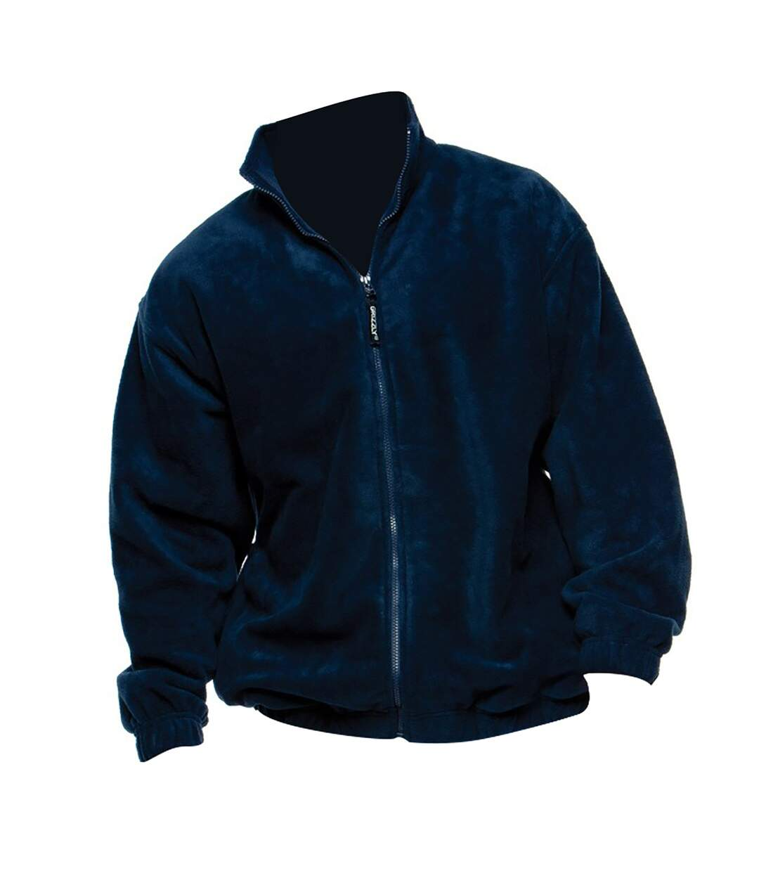 Grizzly Mens Full Zip Active Fleece Top / Mens Fleeces (Black) - UTBC509