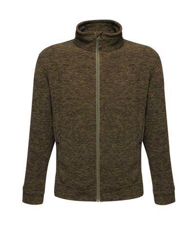 Regatta Mens Thornly Full Zip Fleece (Dark Khaki Marl) - UTRG4159