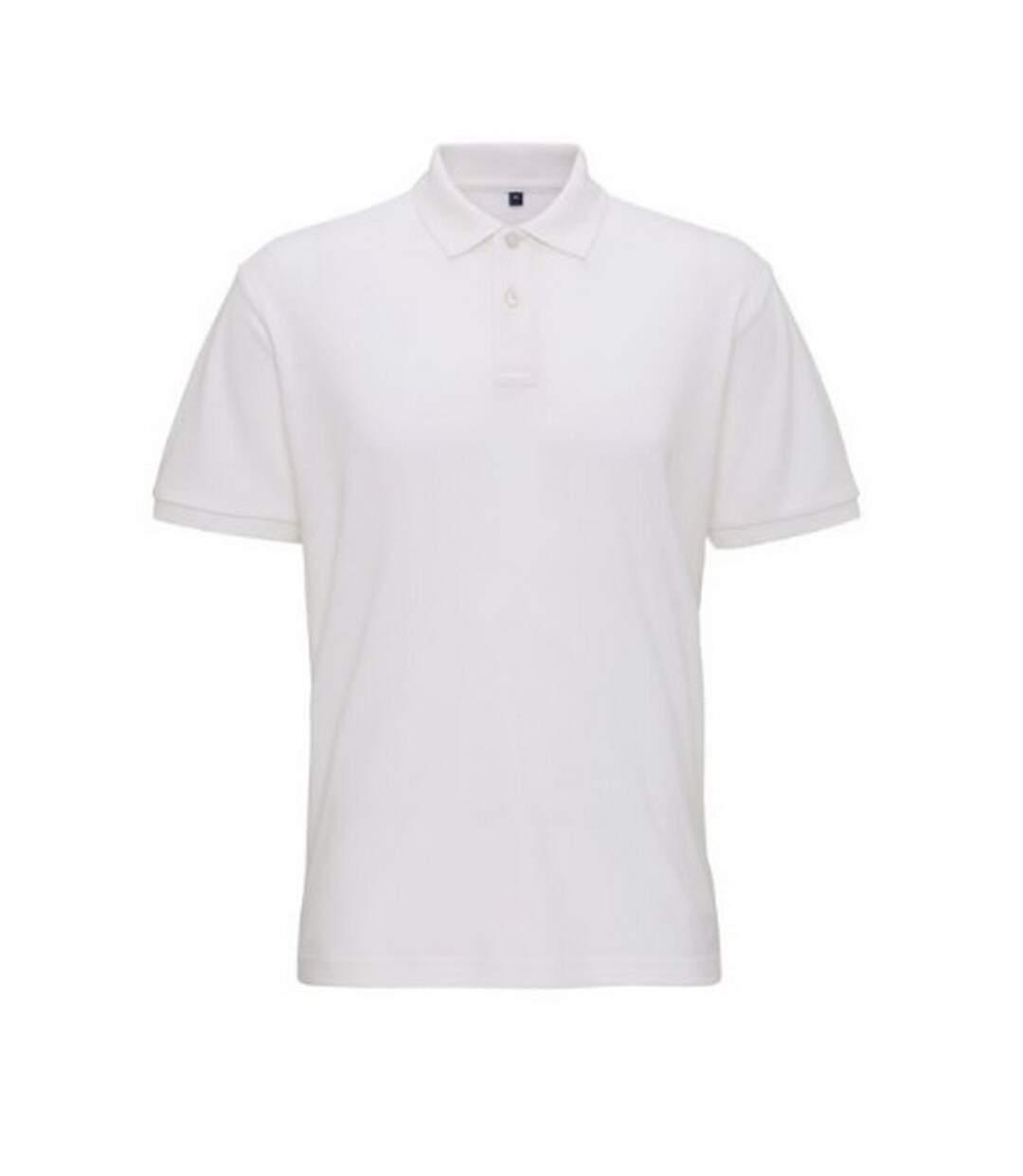 Asquith & Fox Mens Super Smooth Knit Polo Shirt (White) - UTRW6026