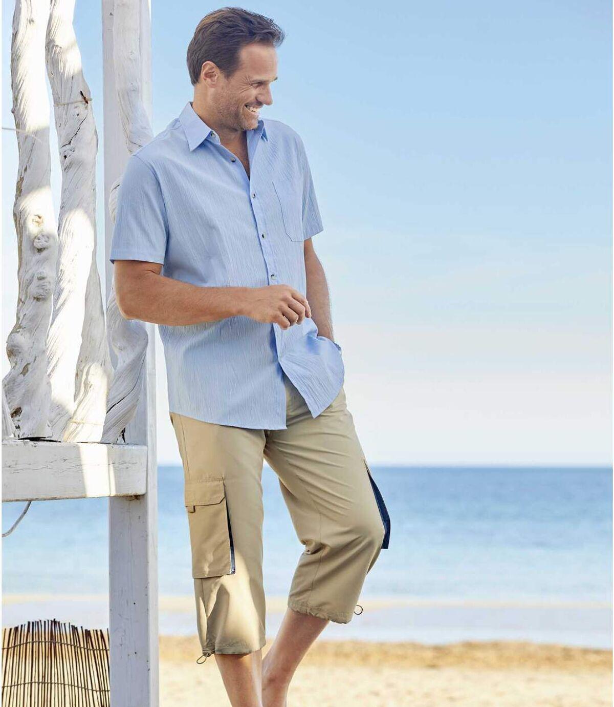 Súprava 2mikrovláknových trojštvrťových nohavíc Atlas For Men