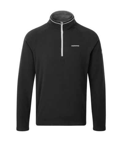 Craghoppers Mens Selby Half Zip Micro Fleece Top (Black) - UTRW3998