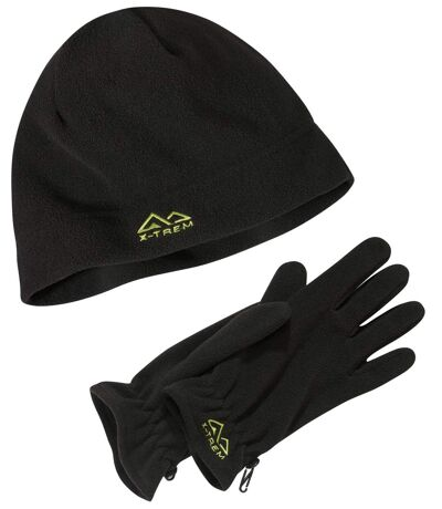 Fleecemuts en handschoenen X-TREM