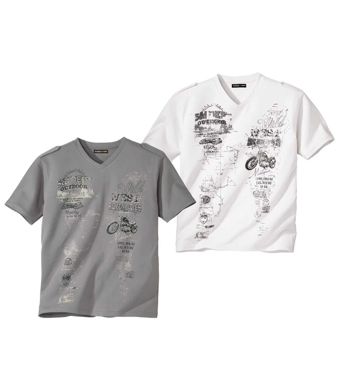 2 gombos váll-lapos pólóból álló szett