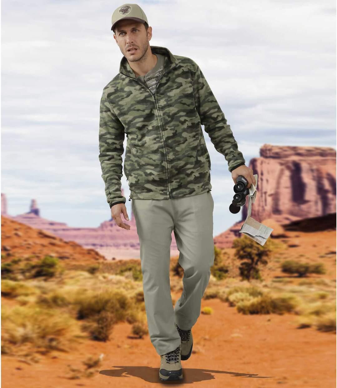 Voľnočasové nohavice Canvas