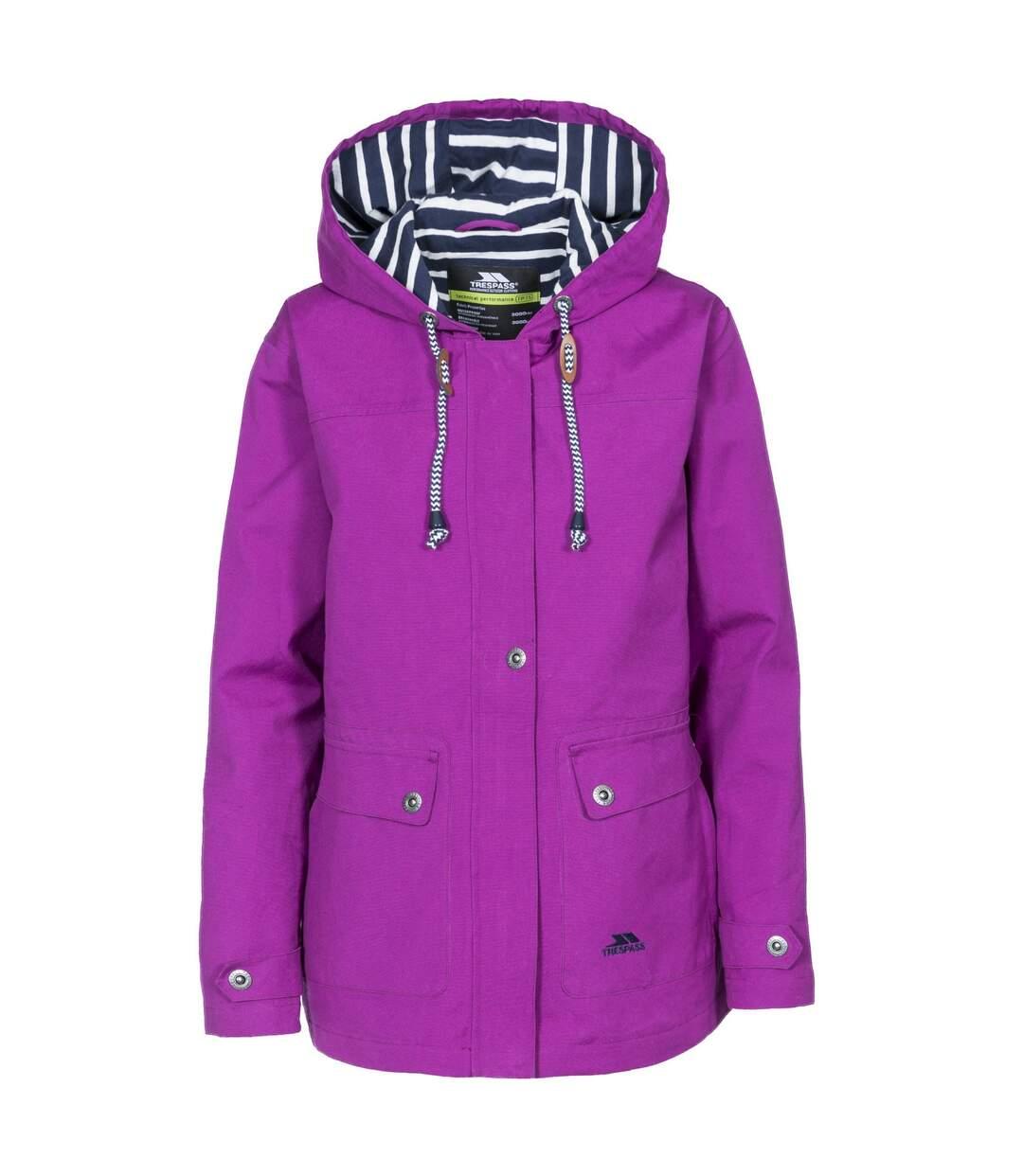 Trespass Womens/Ladies Seawater Waterproof Jacket (Navy) - UTTP3314