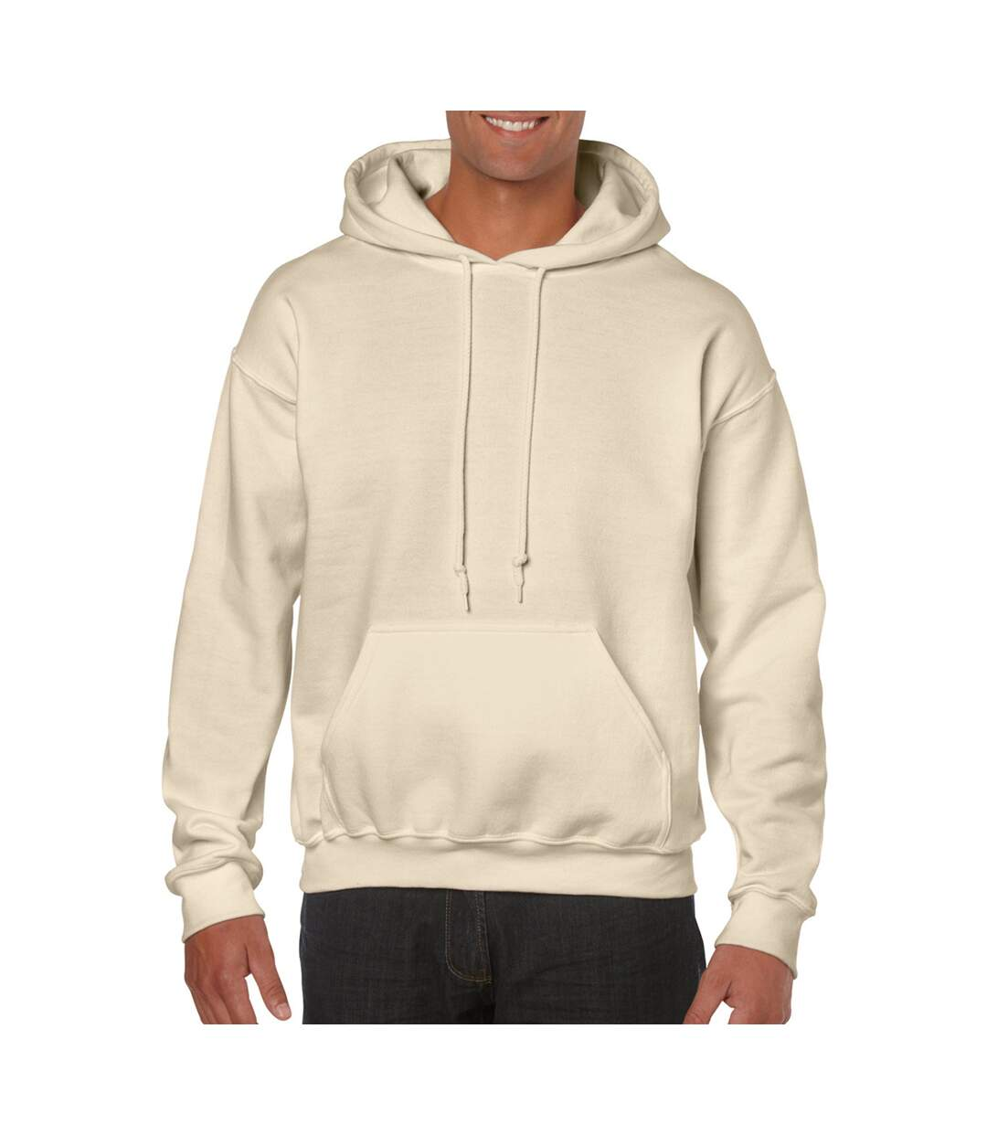 Gildan Heavy Blend Adult Unisex Hooded Sweatshirt / Hoodie (Graphite Heather) - UTBC468
