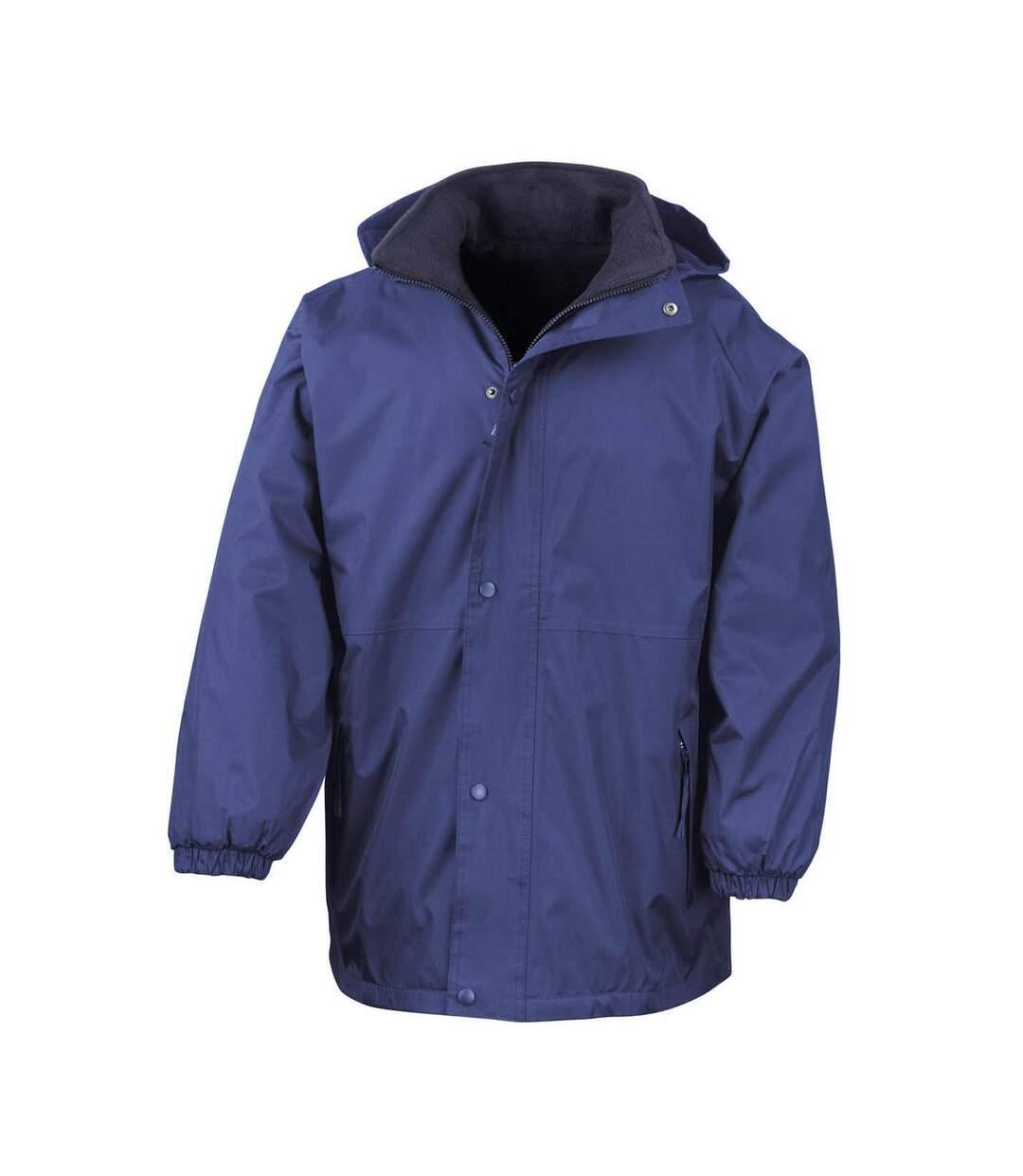 Result Mens Reversible StormDri 4,000 Waterproof Windproof Anti Pilling Fleece Jacket (Royal/Navy) - UTBC884