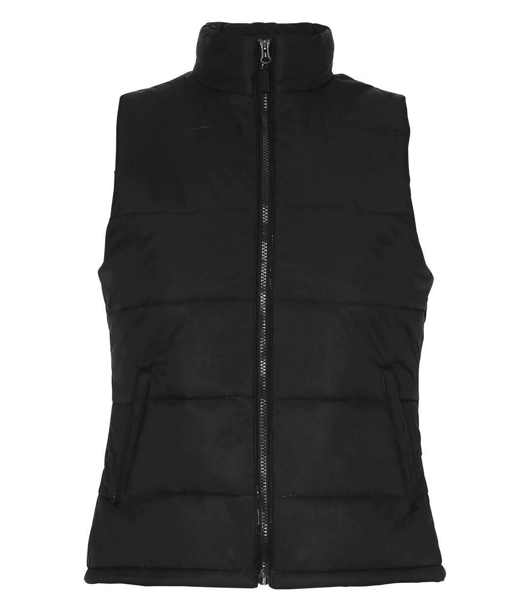 Gilet doudoune sans manches Femme - TS15F - noir