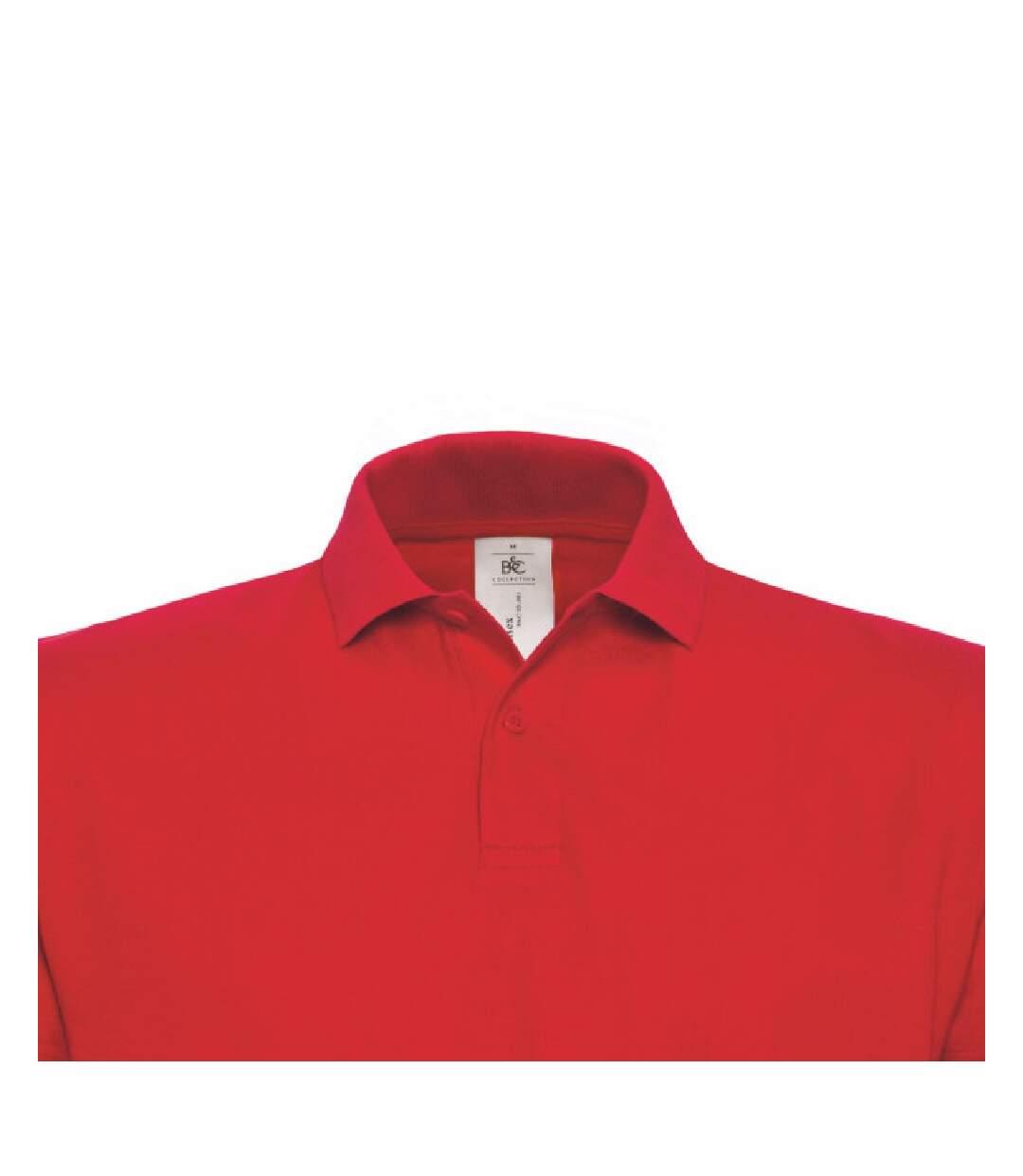 B&C - Polo À Manches Courtes - Femme (Rouge) - UTBC1285