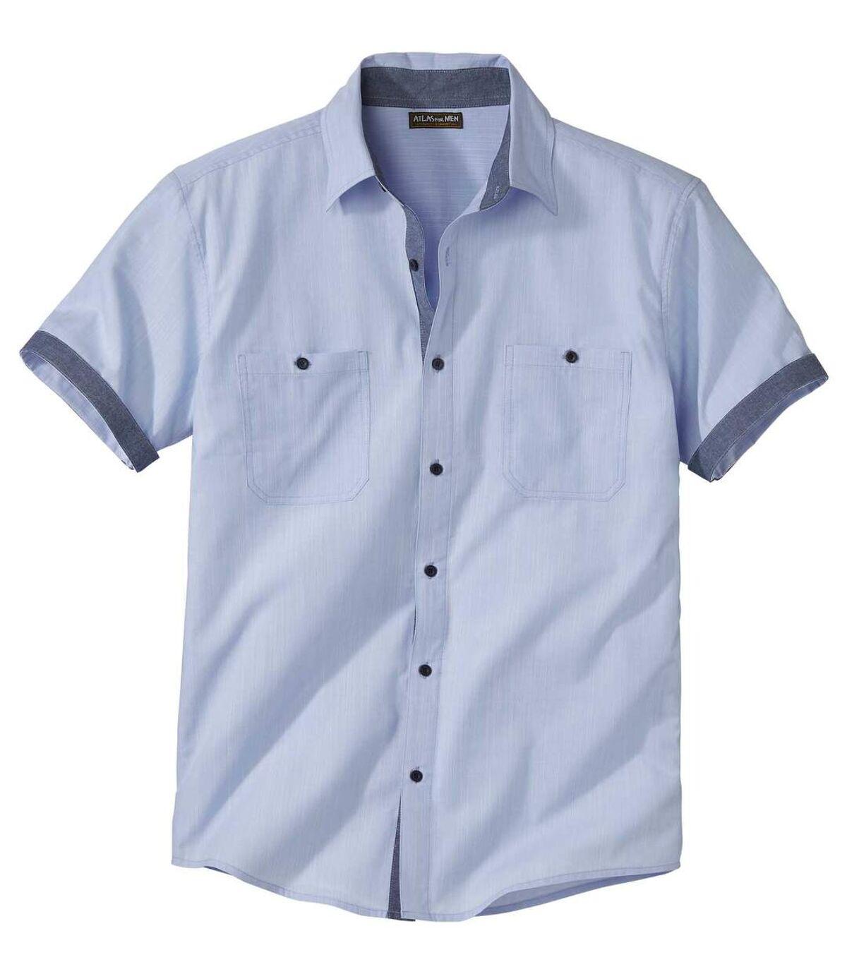 Letní košile skrátkým rukávem Atlas For Men