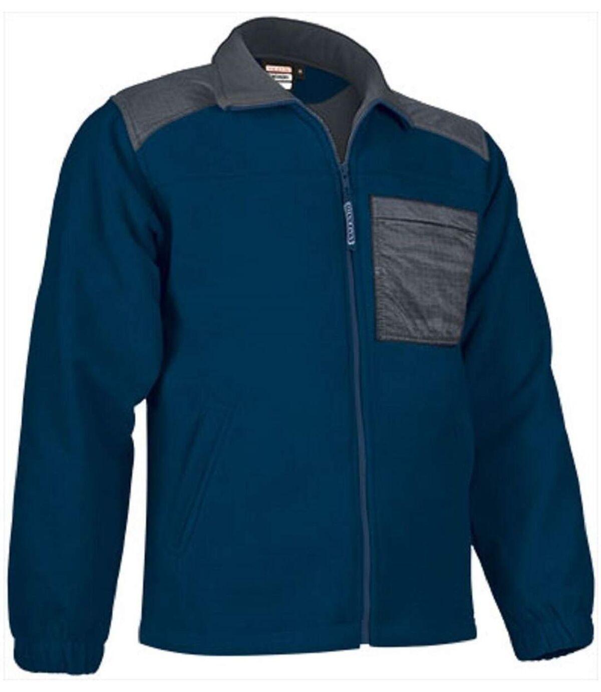 Veste polaire zippée - Homme - REF NEVADA - bleu marine