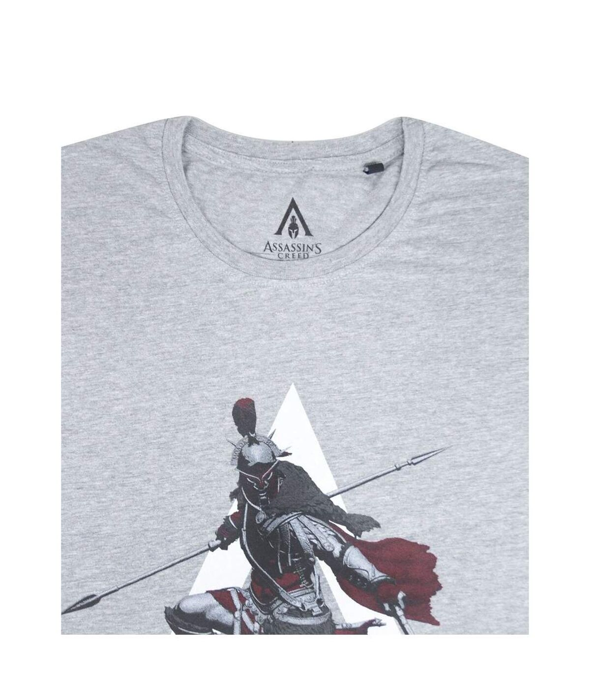 Assassins Creed Odyssey Mens The Knight T-Shirt (Grey) - UTNS5699