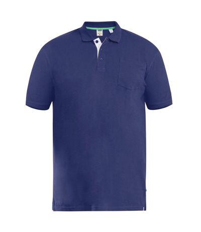 Duke Mens D555 Grant Kingsize Pique Polo Shirt (Black) - UTDC106