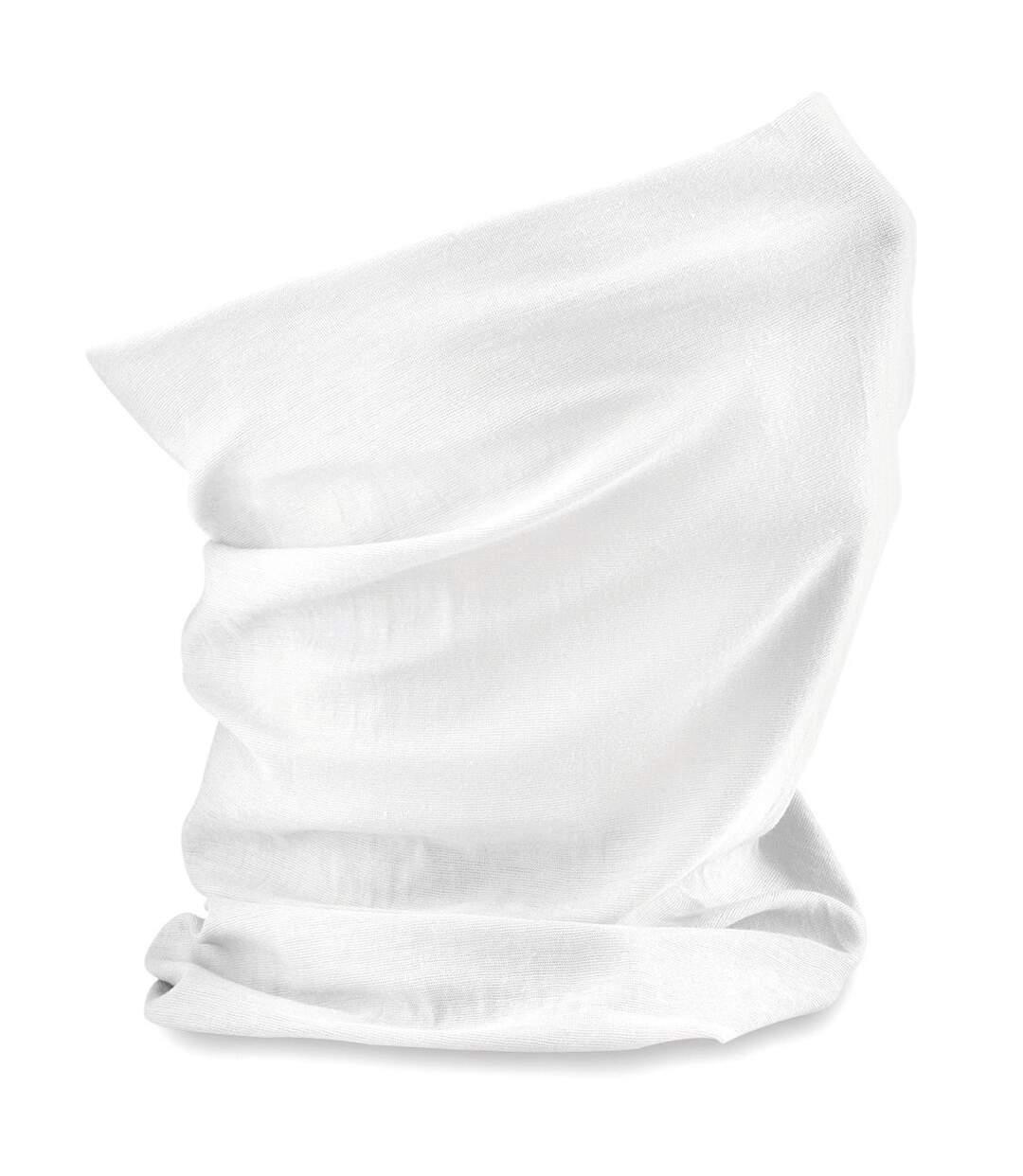 Echarpe tubulaire - tour de cou adulte - B900 - blanc