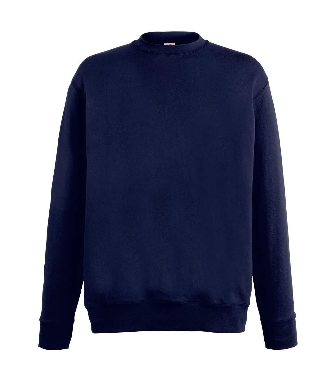 Fruit Of The Loom Mens Lightweight Set-In Sweatshirt (Azure Blue) - UTRW4499