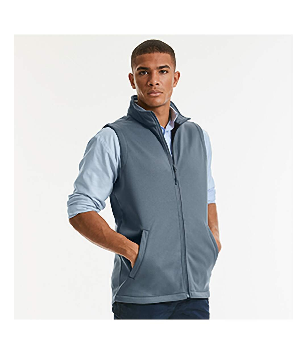 Russell - Veste Softshell Sans Manches Smart - Homme (Gris) - UTBC1511