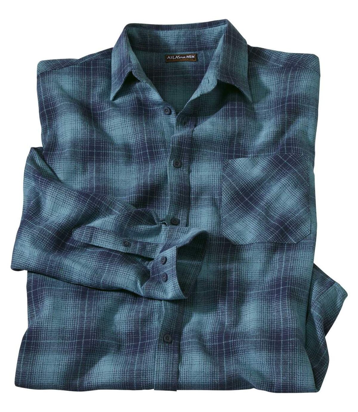 Flanelowa koszula w kratę Winter Atlas For Men