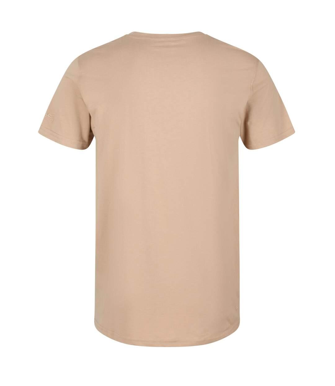 Regatta Mens Cline IV Graphic T-Shirt (Powder Blue) - UTRG4920