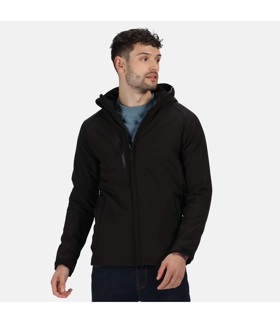 Regatta Mens Repeller X-Pro Softshell Jacket (Black) - UTRG1526