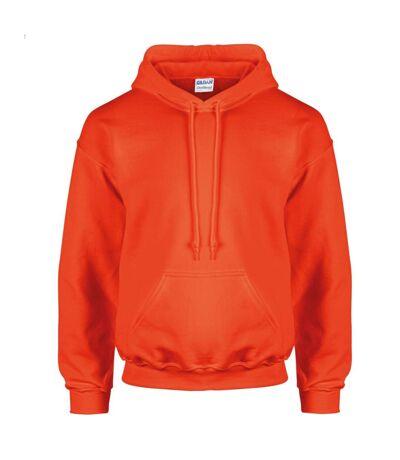 Sweatshirt à capuche Gildan pour homme (Orange) - UTBC461