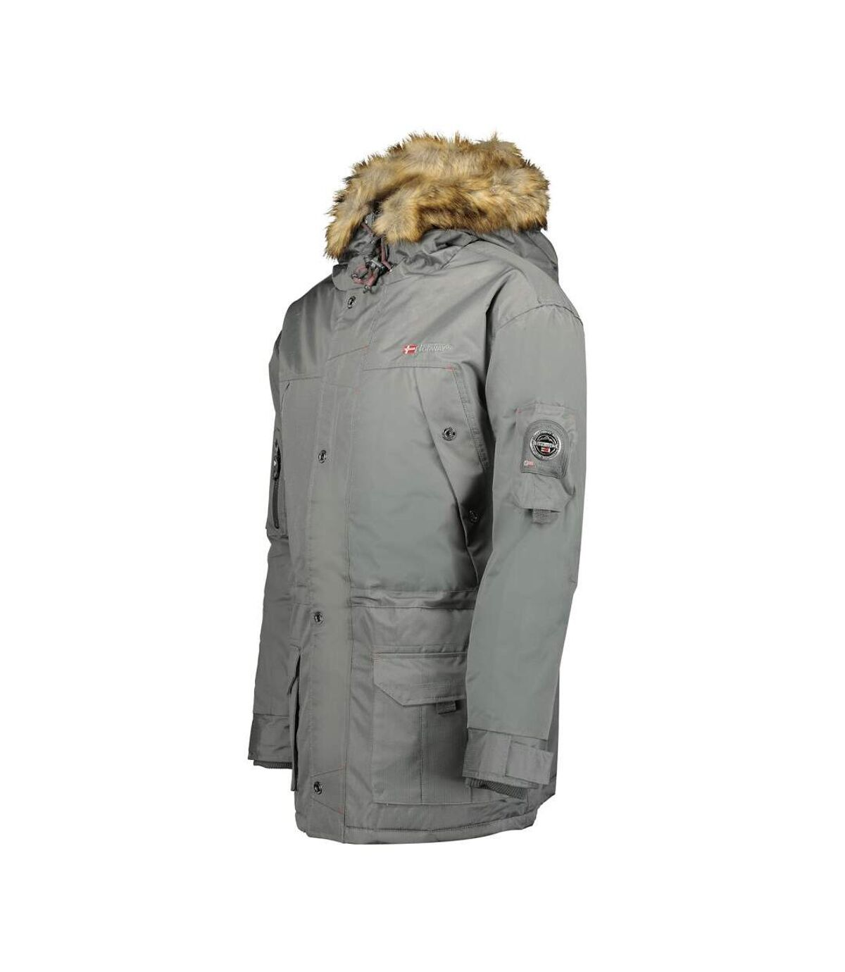 Parka grise homme Geographical Norway Abiosaure