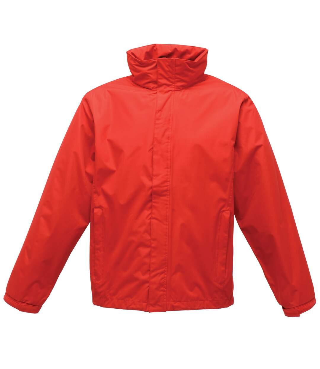 Regatta Mens Pace II Lightweight Waterproof Jacket (Classic Red) - UTRG1546