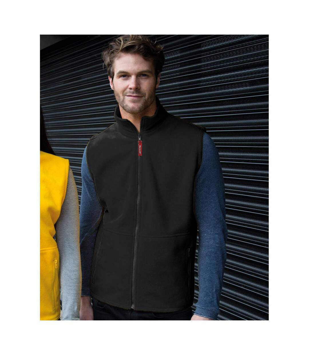 Result Mens Active Anti Pilling Fleece Bodywarmer Jacket (Black) - UTBC923
