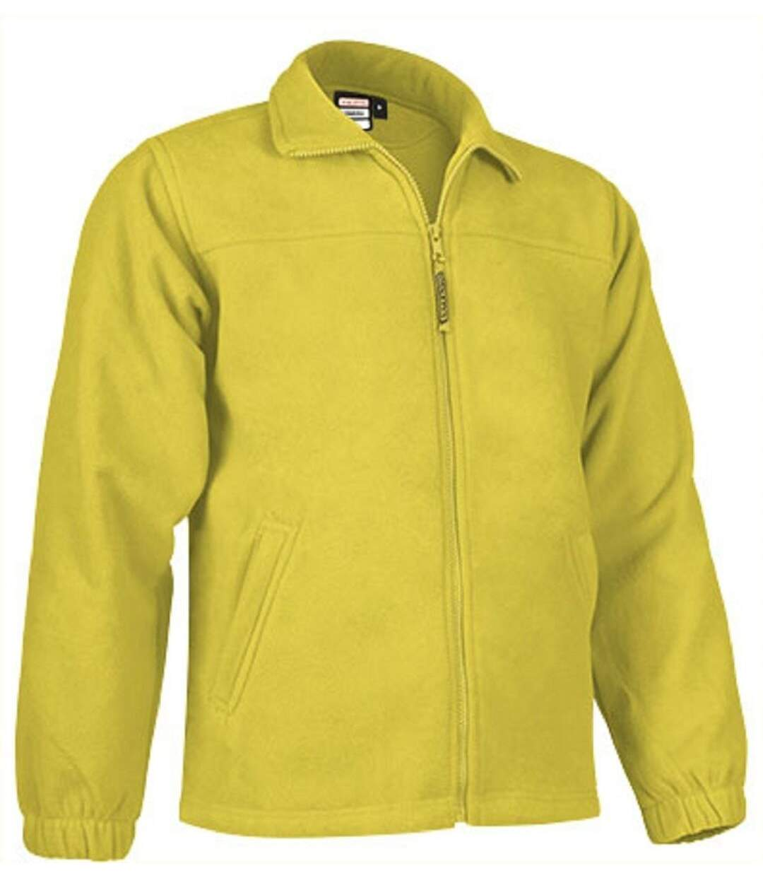 Veste polaire zippée - Homme - REF DAKOTA - jaune citron