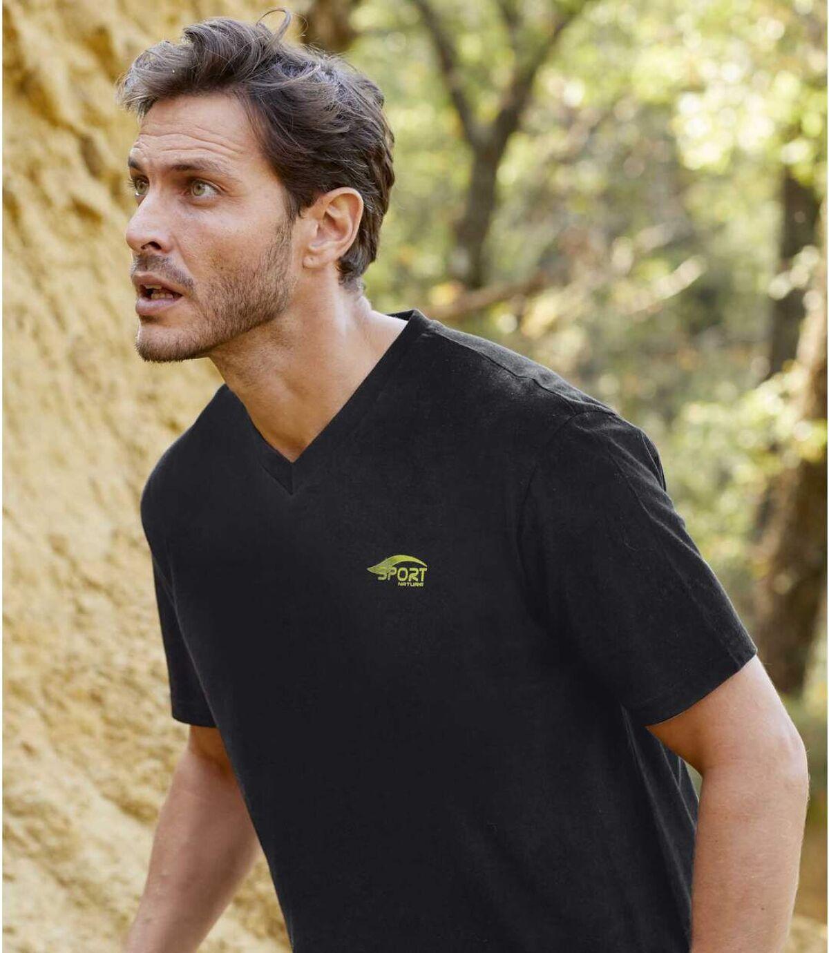3 darabos Sport Nature póló szett Atlas For Men