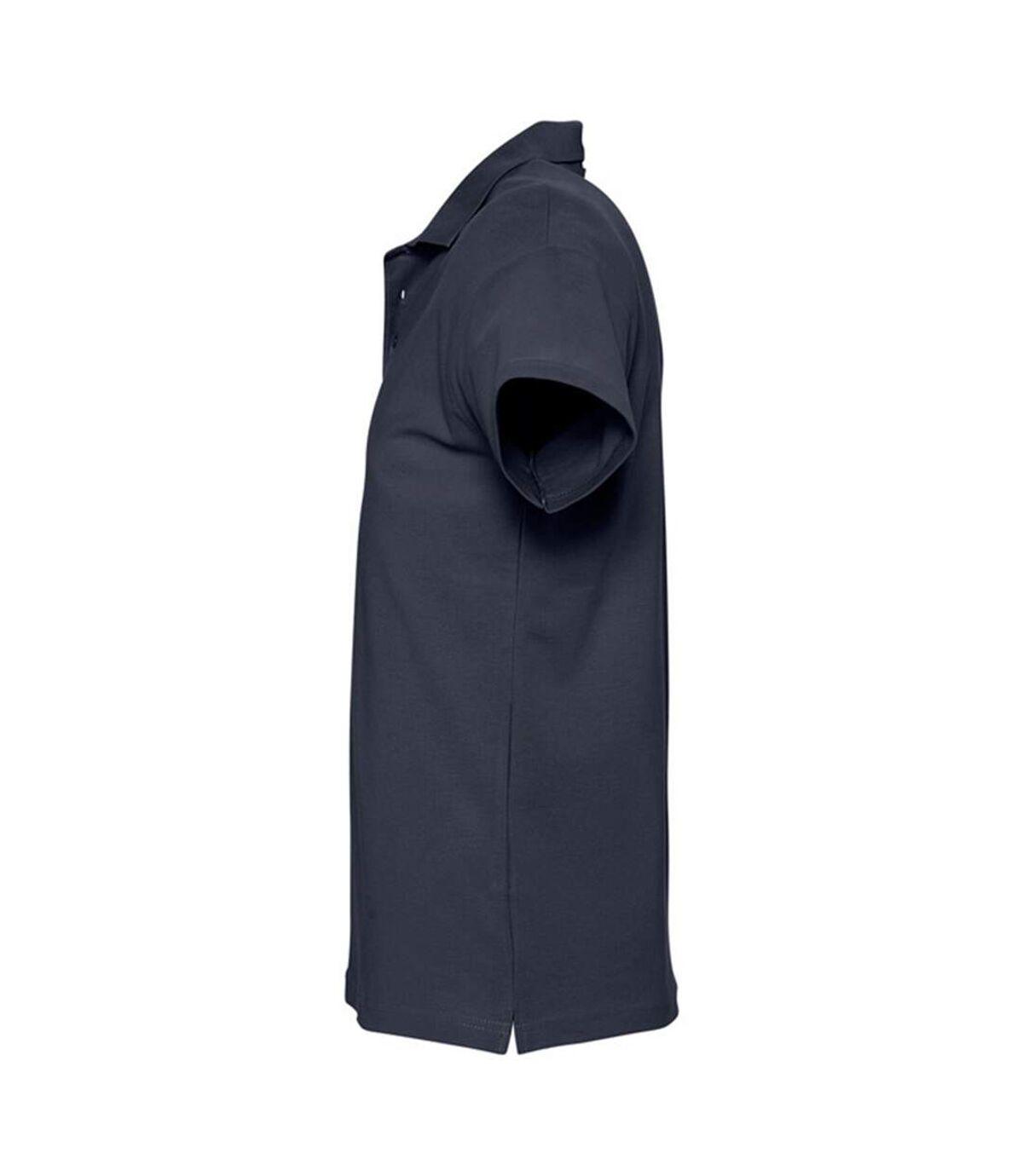SOLS Mens Spring II Short Sleeve Heavyweight Polo Shirt (Navy) - UTPC320