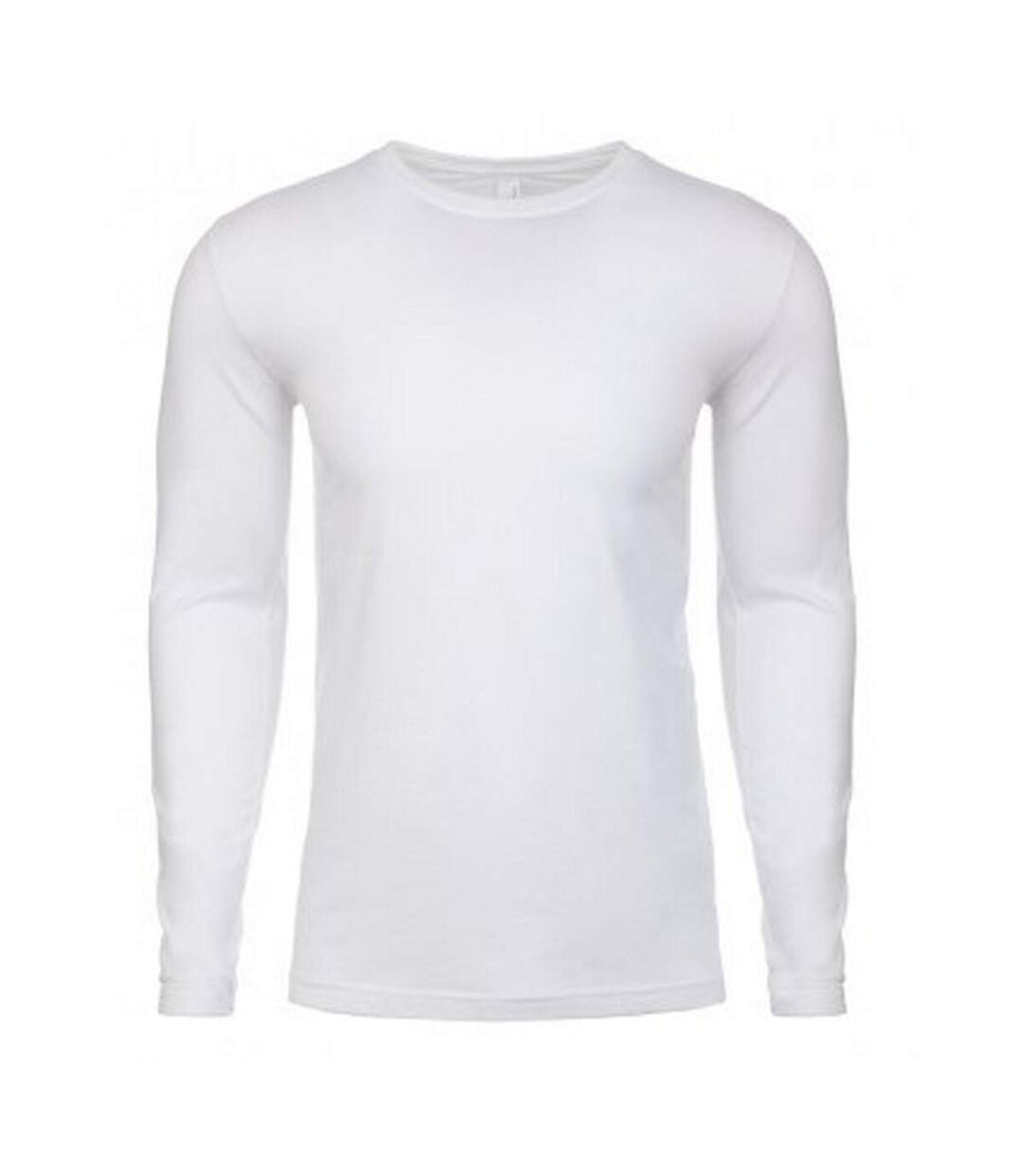 Next Level Mens Long-Sleeved T-Shirt (White) - UTPC4149