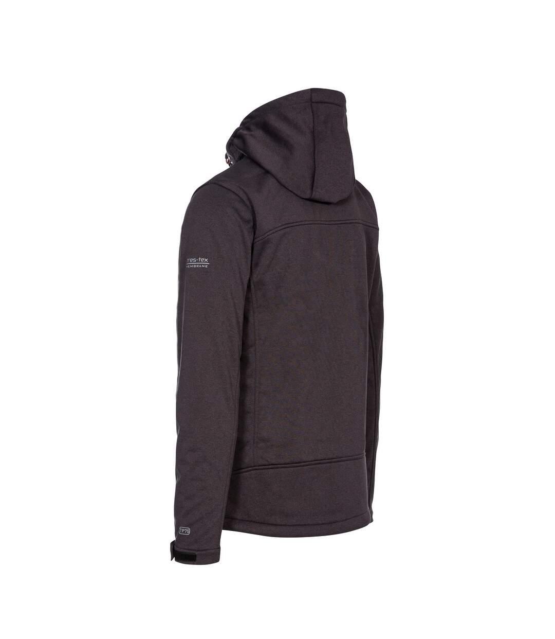 Trespass Mens Maynard TP75 Softshell Jacket (Dark Grey Marl) - UTTP4261