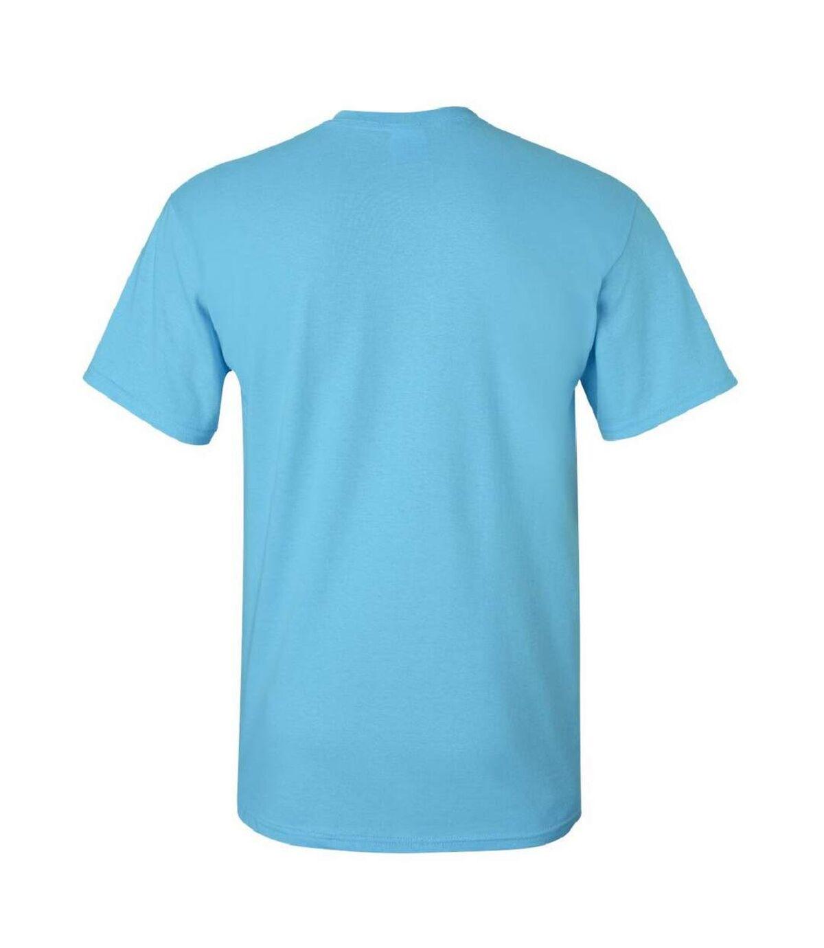 Gildan Mens Ultra Cotton Short Sleeve T-Shirt (Sky) - UTBC475